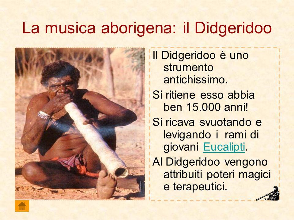 La musica aborigena: il Didgeridoo