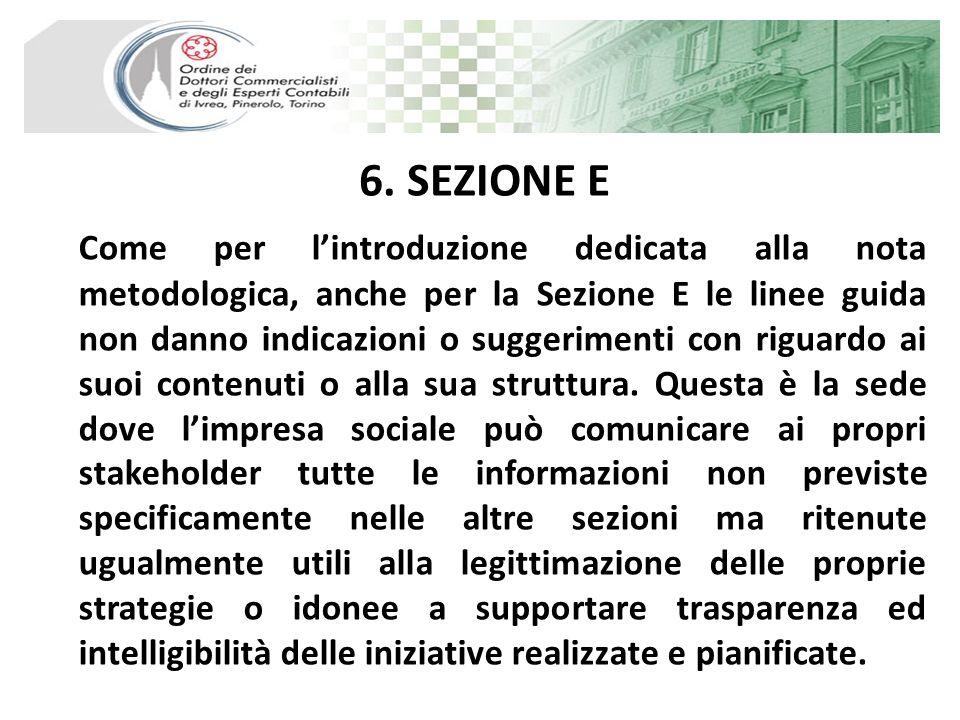 6. SEZIONE E
