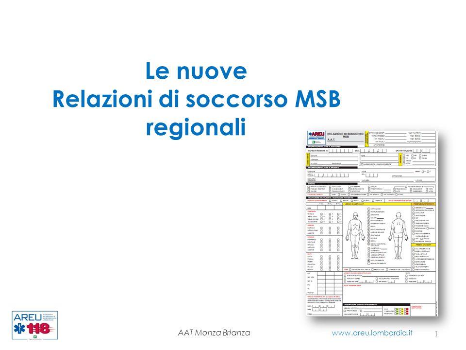 Relazioni di soccorso MSB