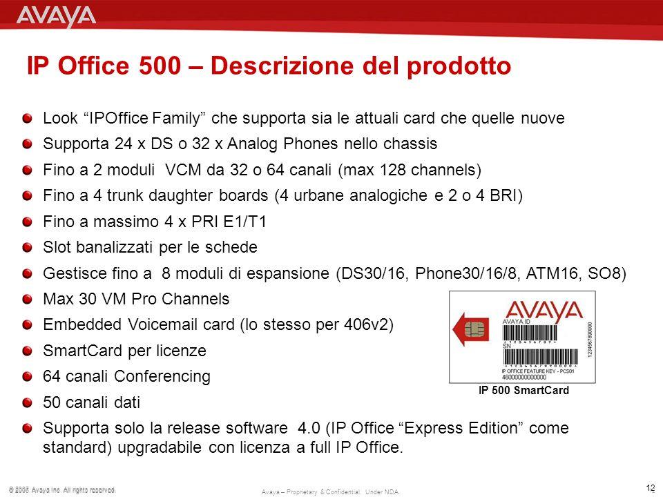 IP Office 500 – Descrizione del prodotto