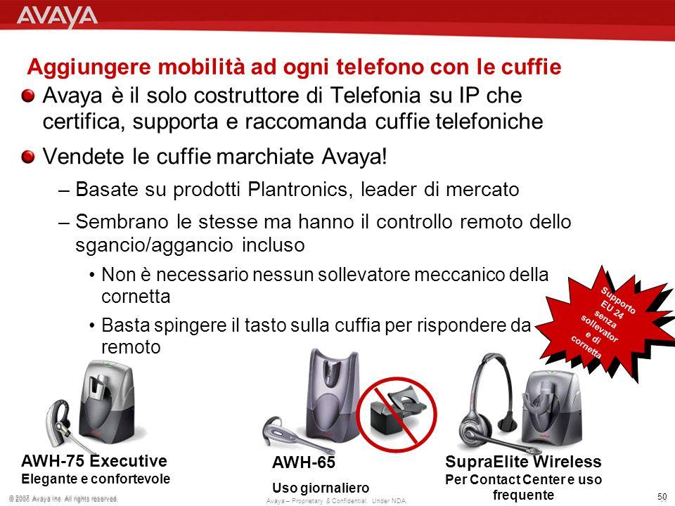 Aggiungere mobilità ad ogni telefono con le cuffie