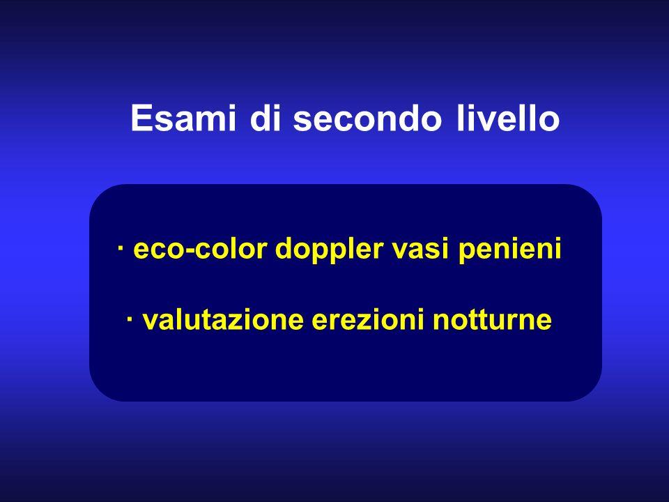 · eco-color doppler vasi penieni · valutazione erezioni notturne