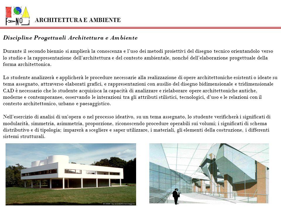 ARCHITETTURA E AMBIENTE