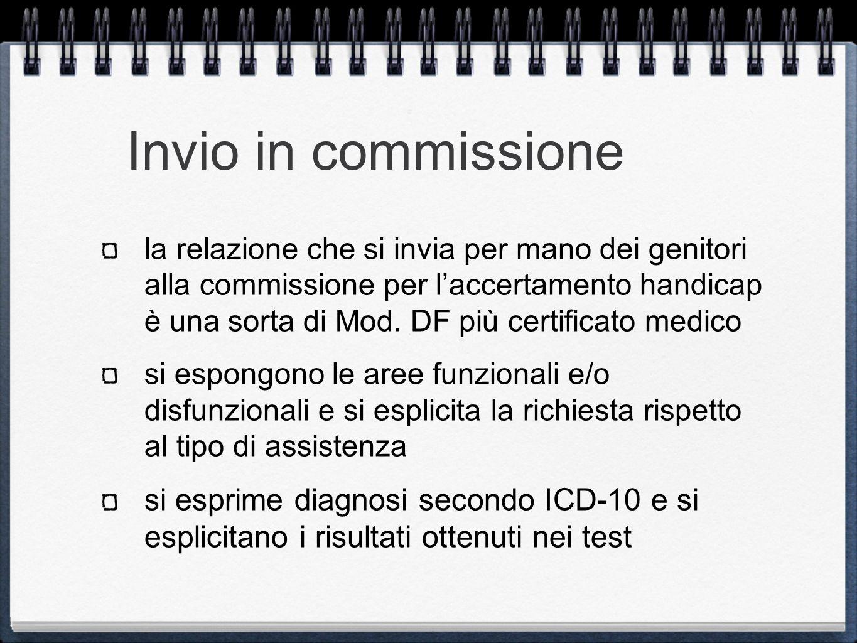 Invio in commissione
