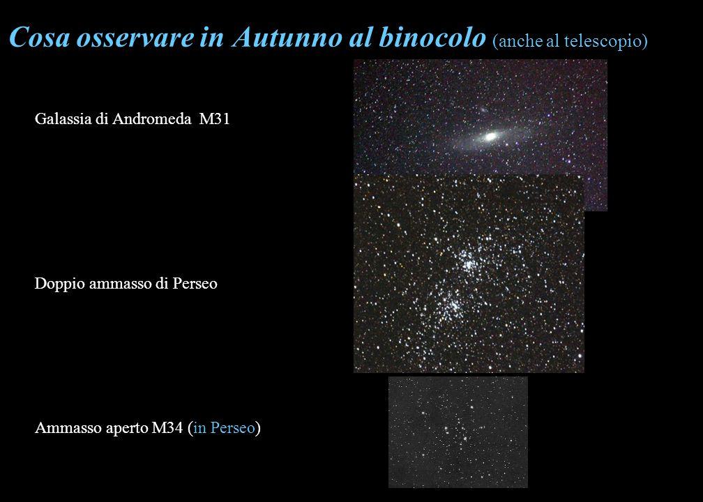 Cosa osservare in Autunno al binocolo (anche al telescopio)