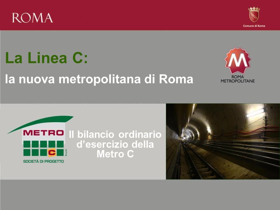 Il bilancio ordinario d'esercizio della Metro C