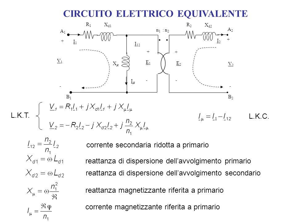 CIRCUITO ELETTRICO EQUIVALENTE