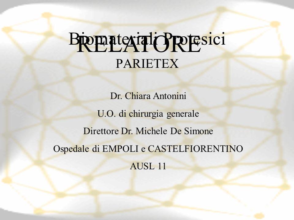 Biomateriali Protesici