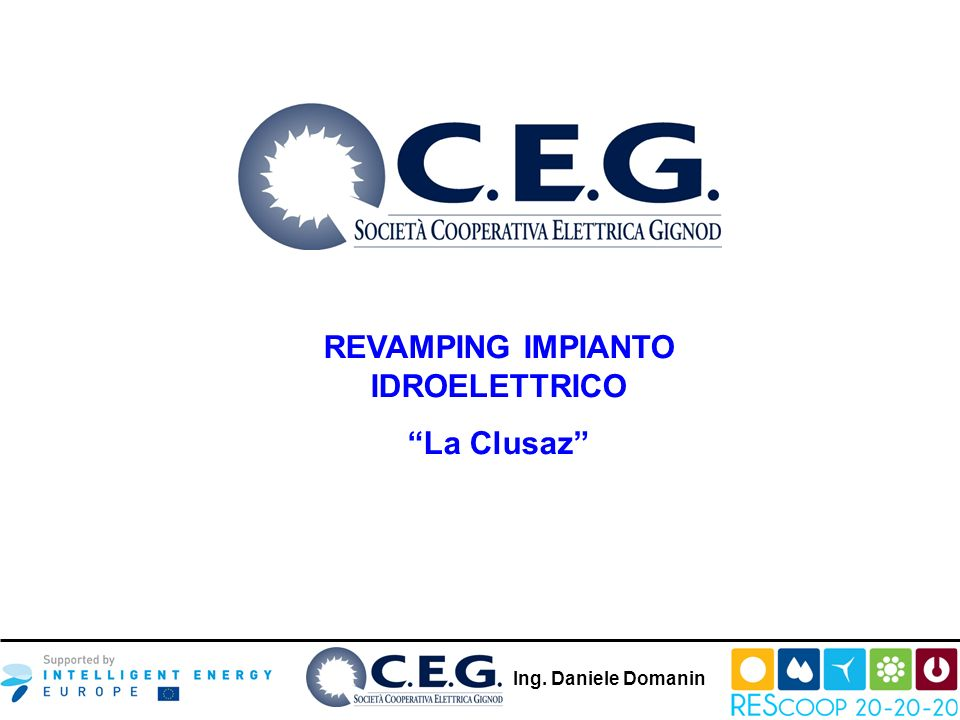 REVAMPING IMPIANTO IDROELETTRICO