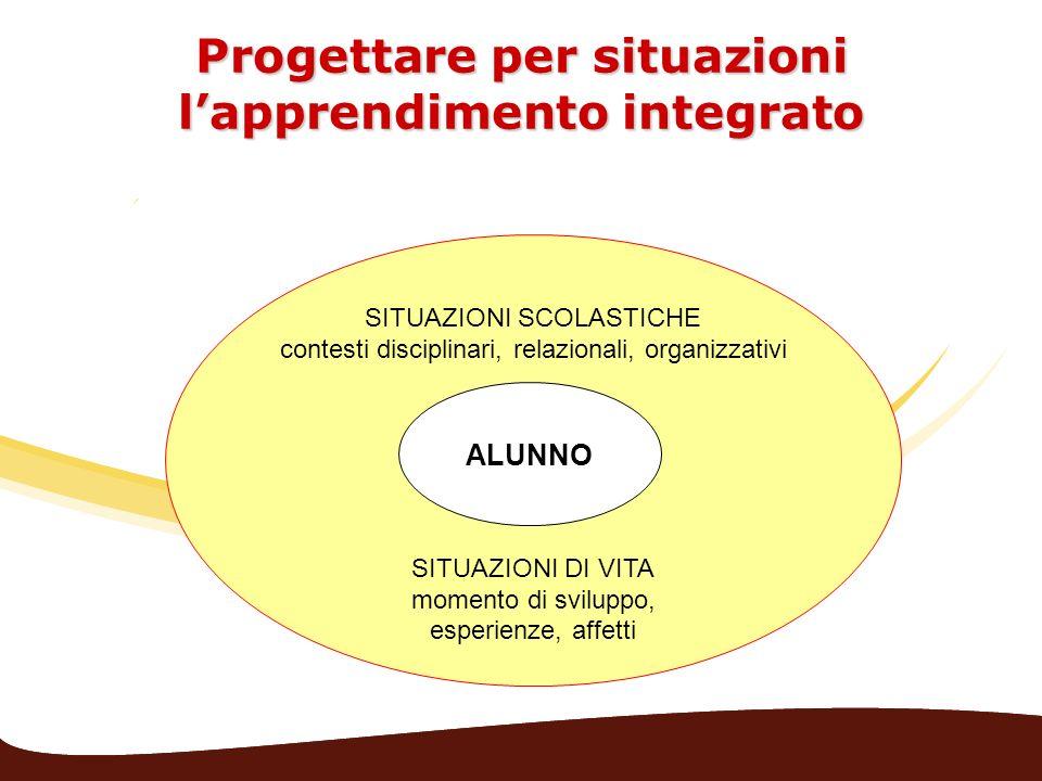 Progettare per situazioni l'apprendimento integrato