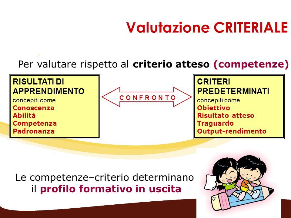 Valutazione CRITERIALE