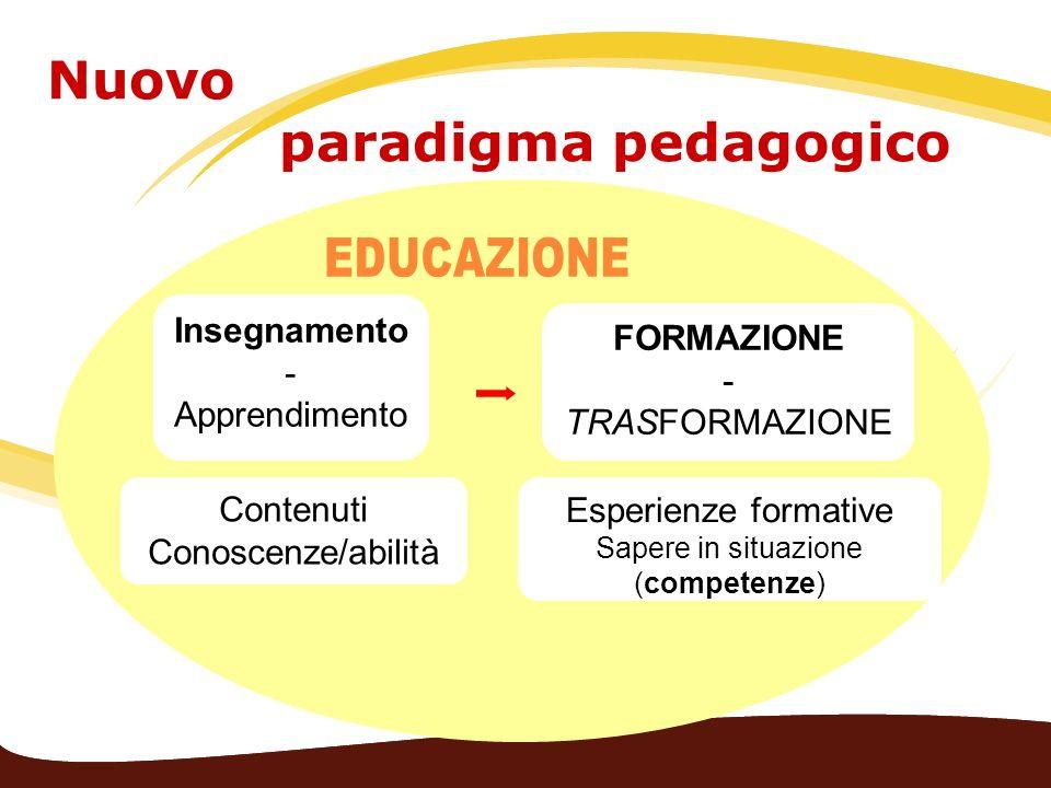Nuovo paradigma pedagogico