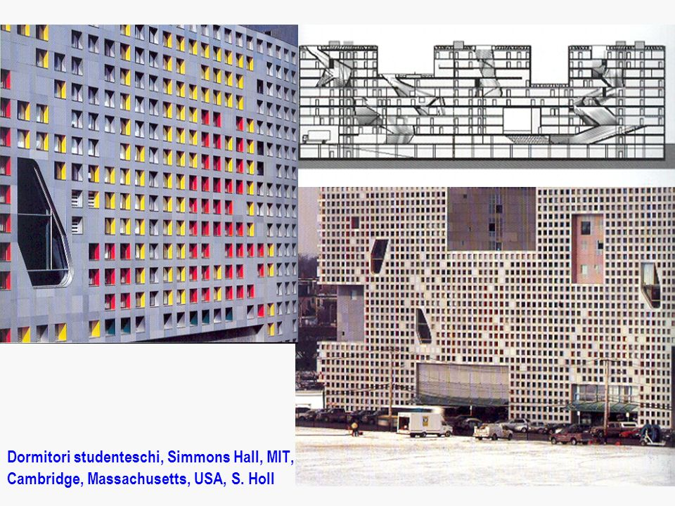 Dormitori studenteschi, Simmons Hall, MIT,