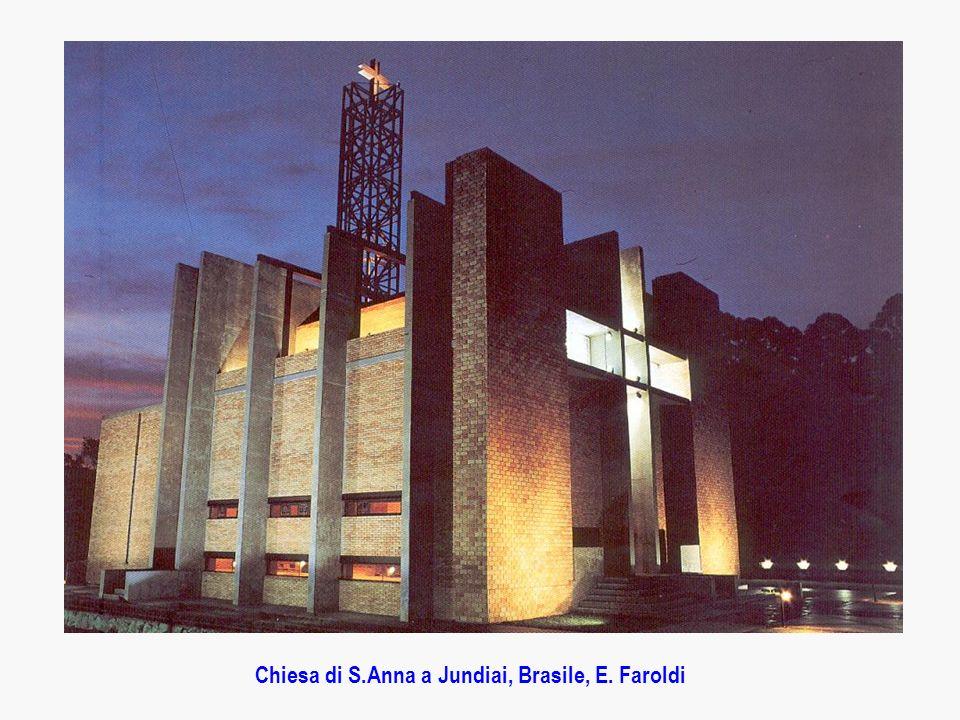 Chiesa di S.Anna a Jundiai, Brasile, E. Faroldi
