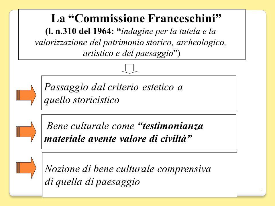 La Commissione Franceschini