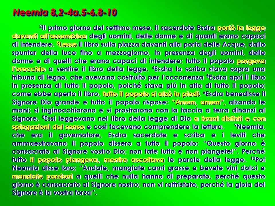 Neemia 8,2-4a.5-6.8-10