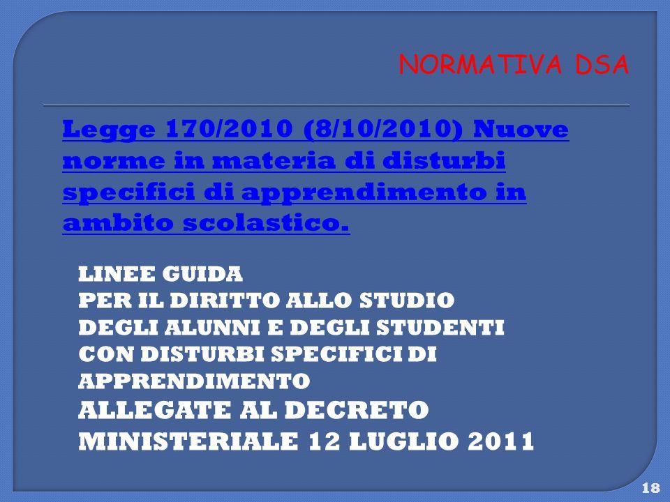 ALLEGATE AL DECRETO MINISTERIALE 12 LUGLIO 2011