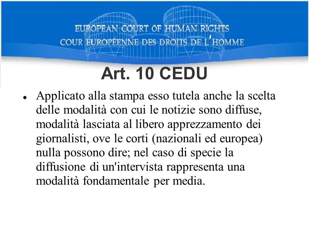 Art. 10 CEDU