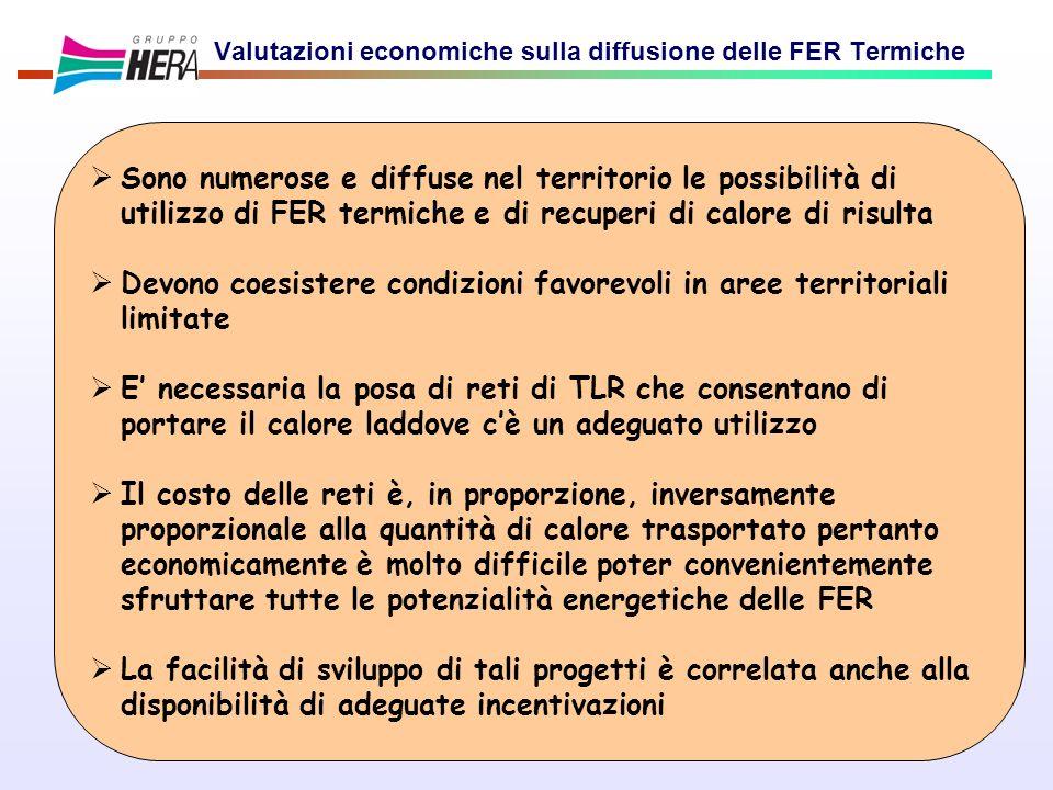 Valutazioni economiche sulla diffusione delle FER Termiche