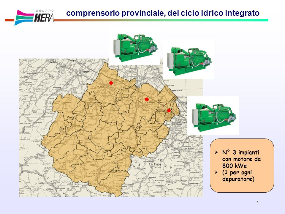 comprensorio provinciale, del ciclo idrico integrato