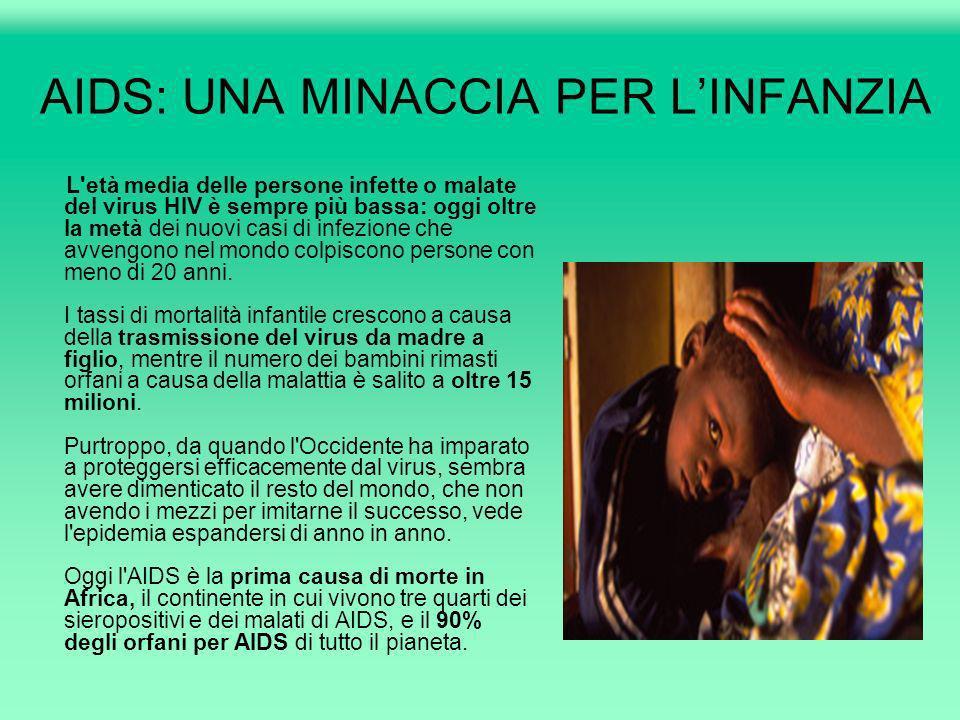 AIDS: UNA MINACCIA PER L'INFANZIA