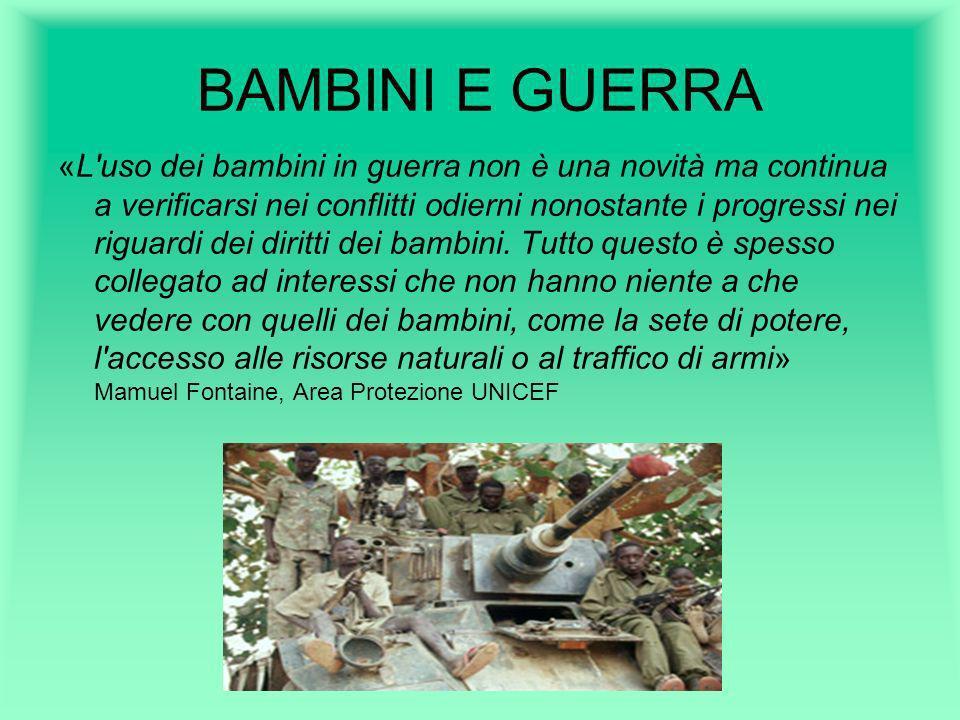 BAMBINI E GUERRA