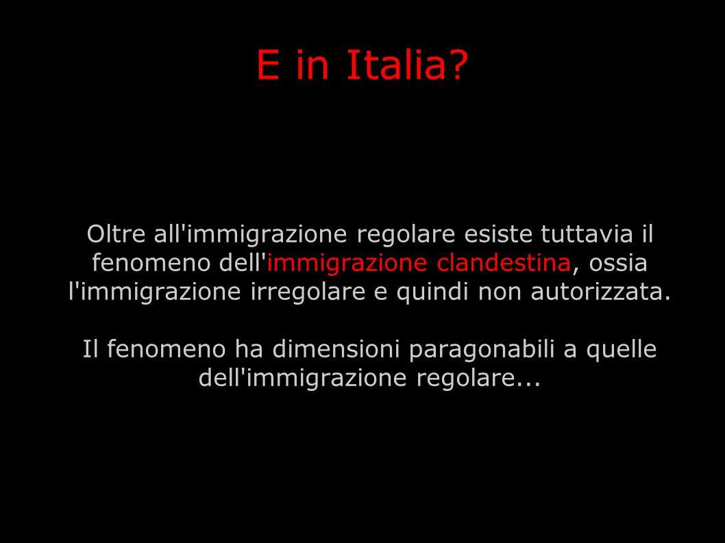 E in Italia