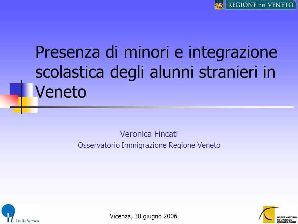 Veronica Fincati Osservatorio Immigrazione Regione Veneto