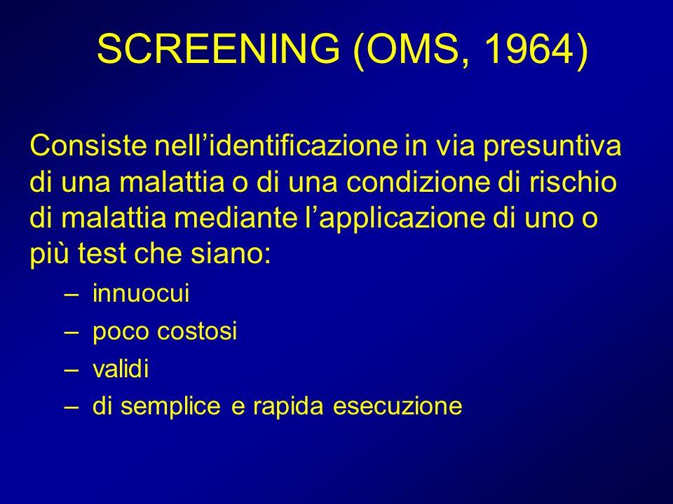 SCREENING (OMS, 1964)