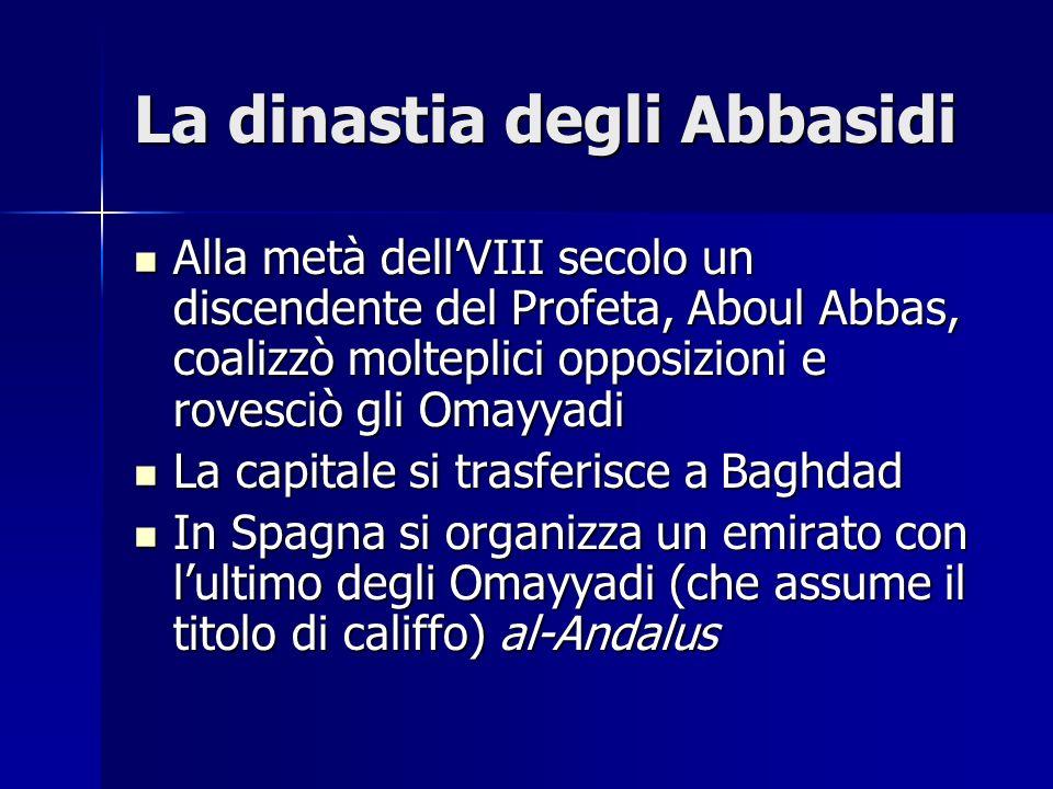 La dinastia degli Abbasidi