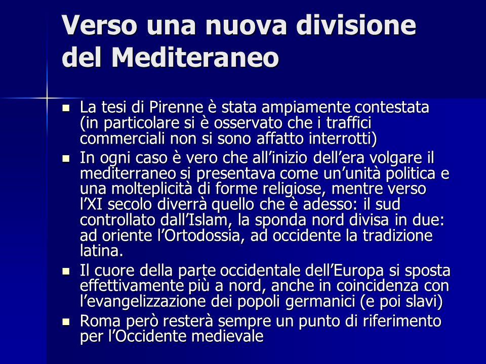 Verso una nuova divisione del Mediteraneo