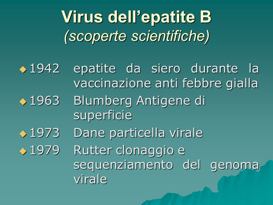 Virus dell'epatite B (scoperte scientifiche)