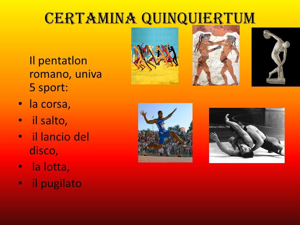CERTAMINA QUINQUIERTUM