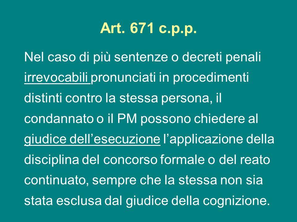 Art. 671 c.p.p.