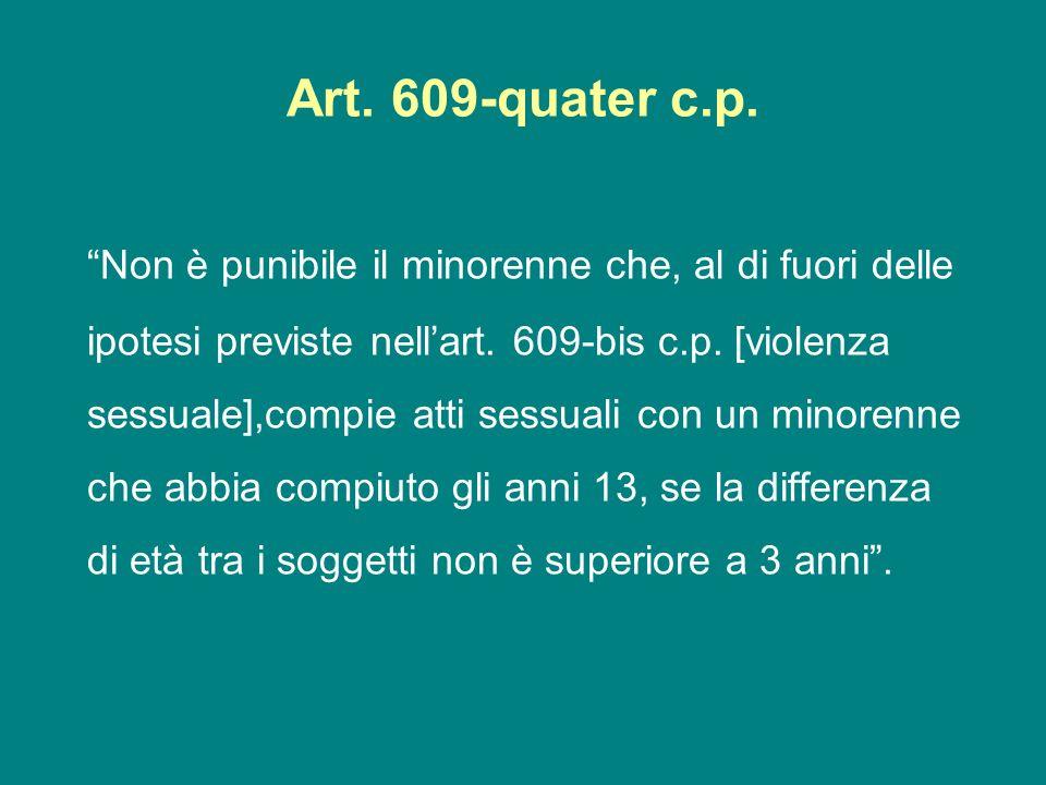 Art. 609-quater c.p.