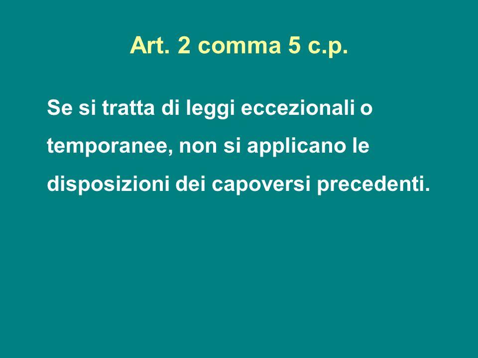Art. 2 comma 5 c.p.