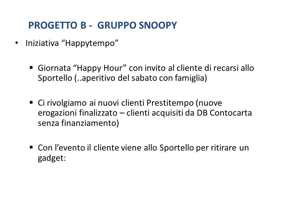 PROGETTO B - GRUPPO SNOOPY