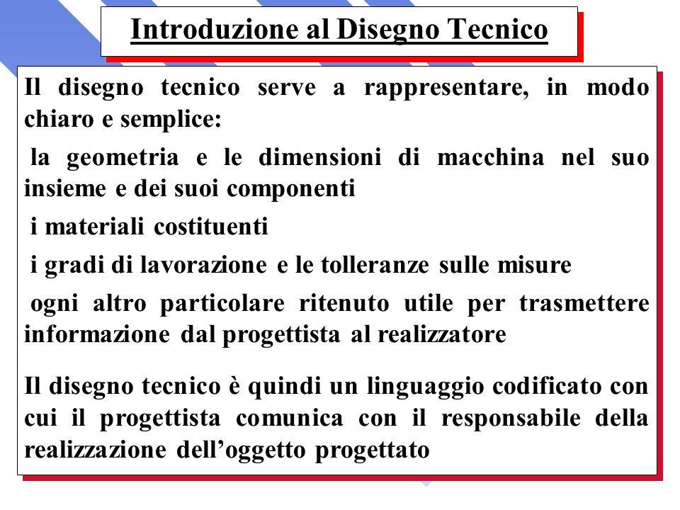 Introduzione al Disegno Tecnico