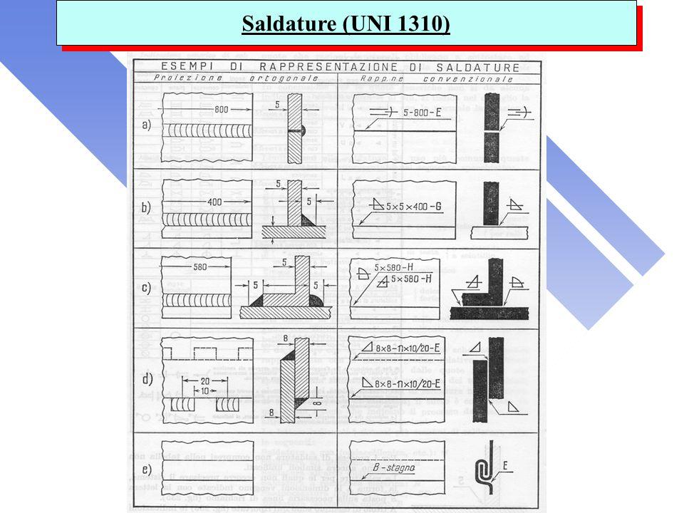 Saldature (UNI 1310)