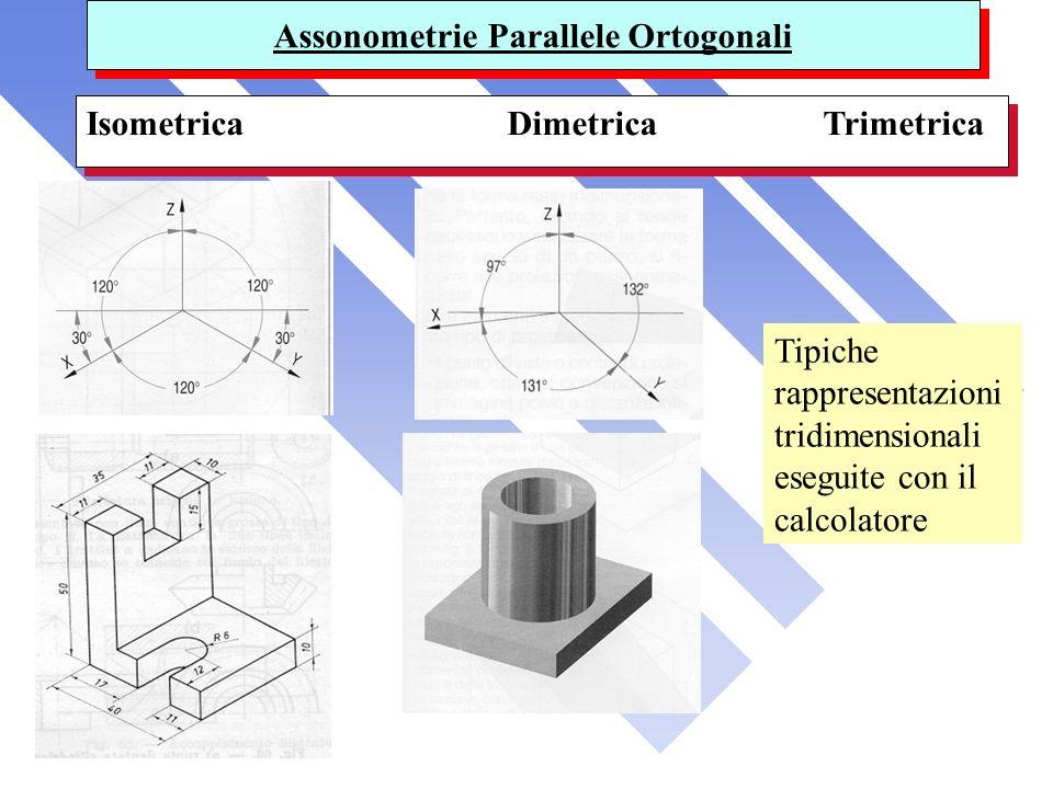 Assonometrie Parallele Ortogonali