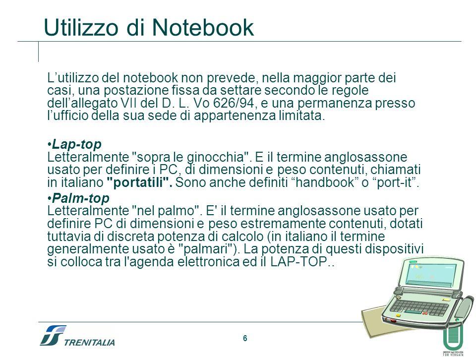 Utilizzo di Notebook