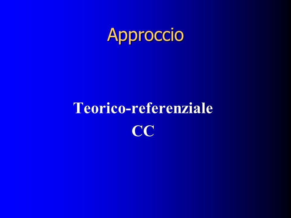 Teorico-referenziale CC