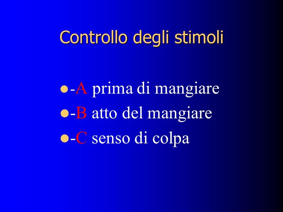 Controllo degli stimoli