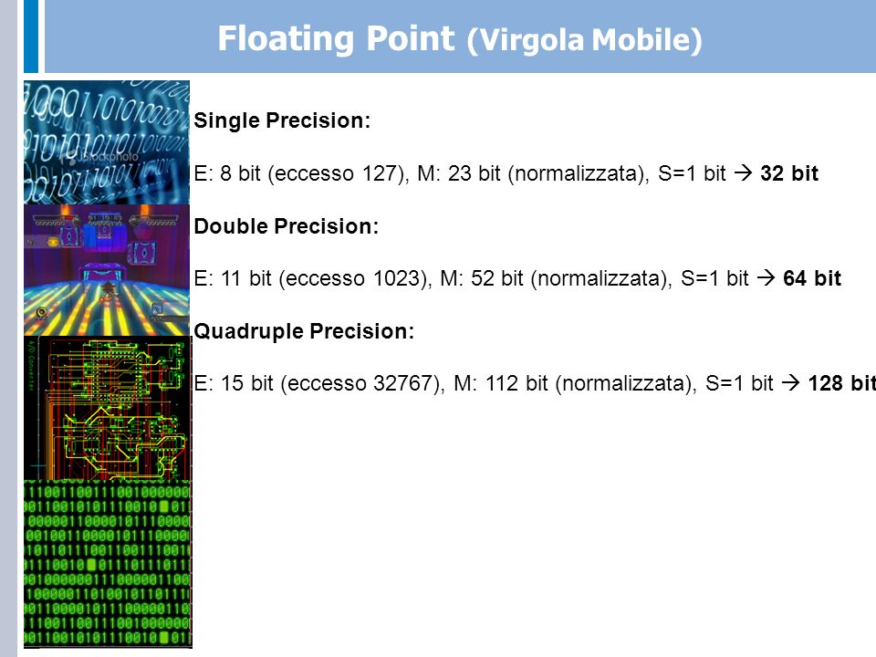 Floating Point (Virgola Mobile)