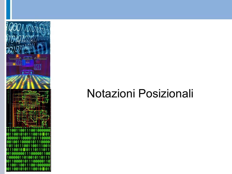 Notazioni Posizionali