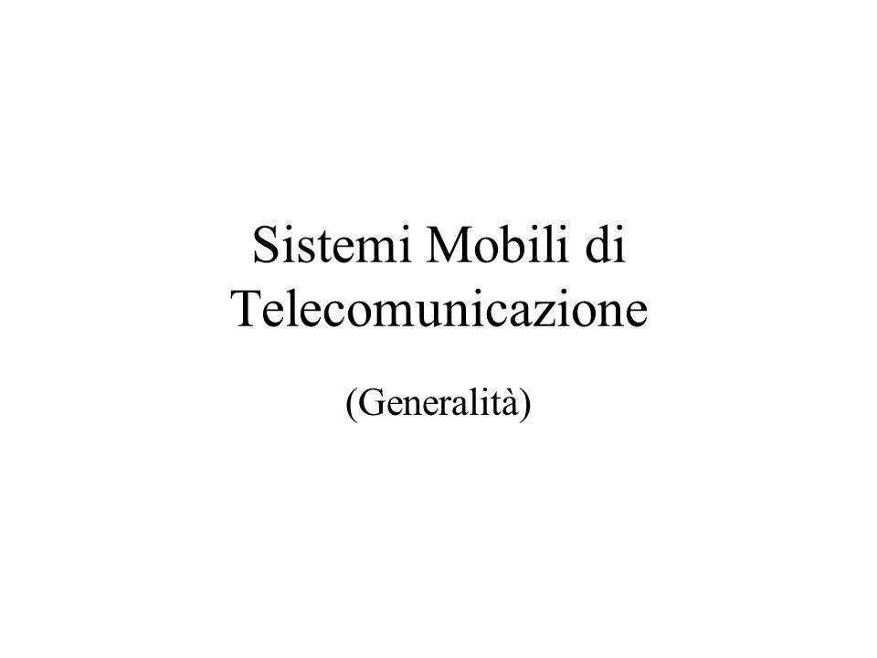 Sistemi Mobili di Telecomunicazione