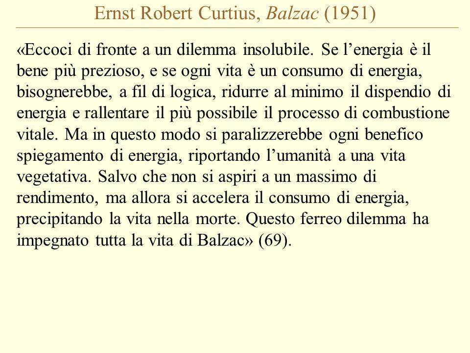 Ernst Robert Curtius, Balzac (1951)