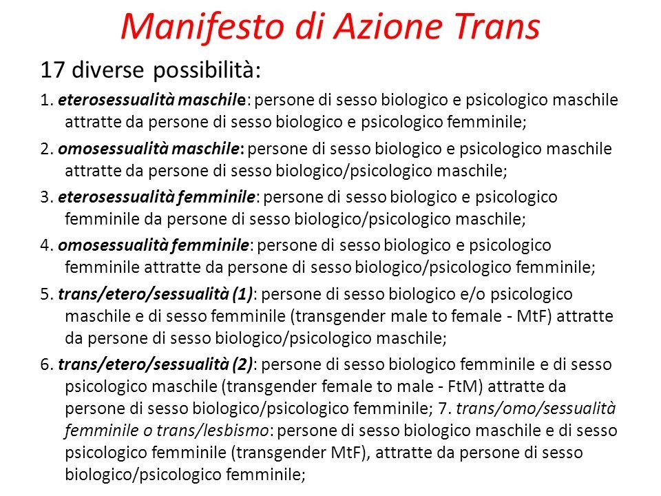 Manifesto di Azione Trans
