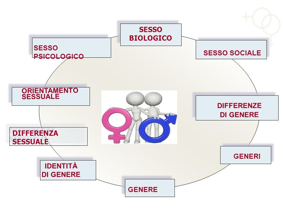 SESSO BIOLOGICO SESSO PSICOLOGICO. SESSO SOCIALE. ORIENTAMENTO SESSUALE. DIFFERENZE. DI GENERE.