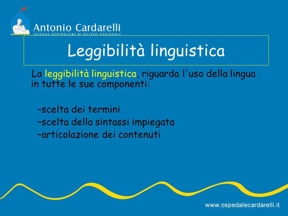 Leggibilità linguistica